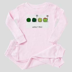 World Peas Baby Pajamas