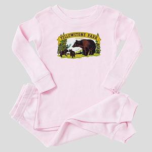 Yellowstone Bears Baby Pajamas