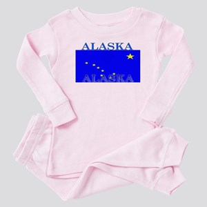 Alaska State Flag Baby Pajamas