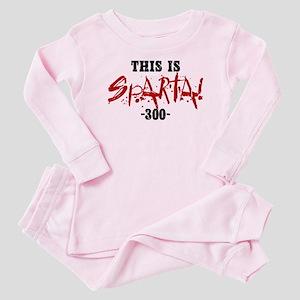 300 This Is Sparta Baby Pajamas