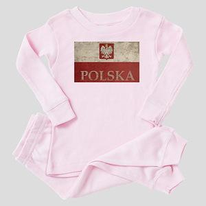 Vintage Polska Baby Pajamas