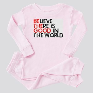 Be The Good In The World Baby Pajamas