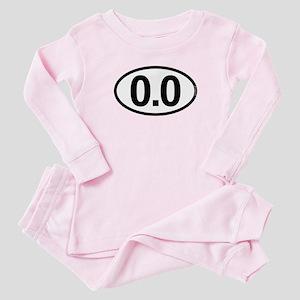 0.0 Zero Marathon Runner Infant Bodysuit