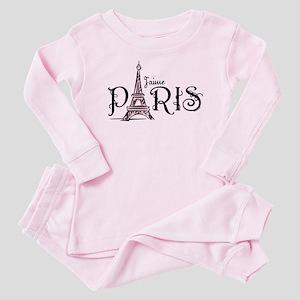 J'aime Paris Baby Pajamas