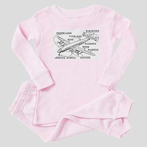 Airplane Baby Pajamas