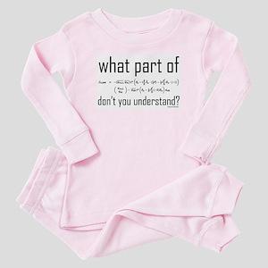 Equation Baby Pajamas