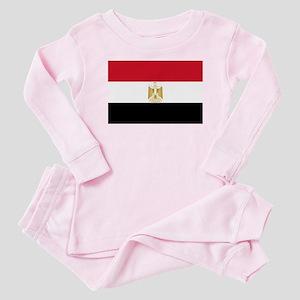 Flag of Egypt Baby Pajamas