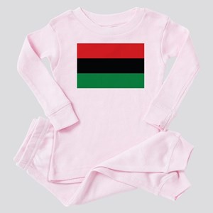 The Red, Black and Green Flag Baby Pajamas