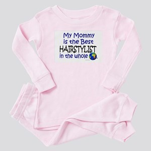 Best Hairstylist In The World (Mommy) Baby Pajamas