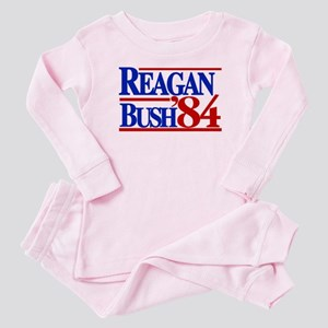 Reagan Bush 1984 Baby Pajamas