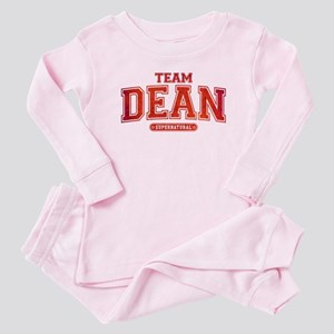 Supernatural Team Dean Baby Pajamas