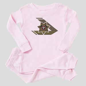 Sheriff San Bernardino Baby Pajamas