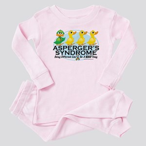 Asperger's Syndrome Ugly Duck Baby Pajamas