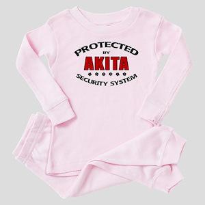 Akita Security Baby Pajamas