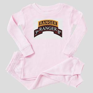 3D Ranger BN Scroll with Rang Baby Pajamas
