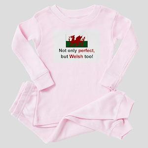 Perfect Welsh Baby Pajamas