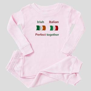Irish Italian Together Baby Pajamas
