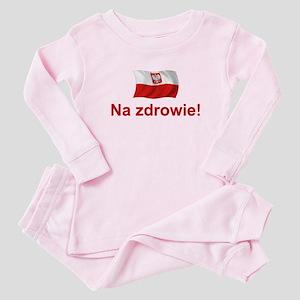 Polish Na zdrowie Baby Pajamas