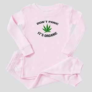 Don't Panic It's Organic Baby Pajamas