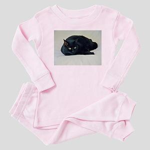 Black Cat! Baby Pajamas
