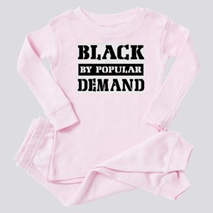 Black by popular demand Baby Pajamas
