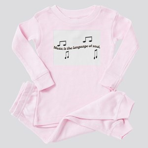 music Baby Pajamas