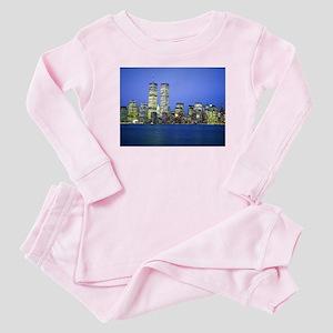 New York City at Night Baby Pajamas