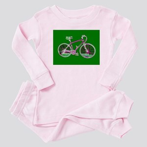 Ditch the Car Ride A Bicycle Green 4Shelby Pajamas
