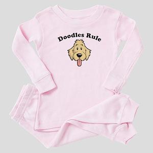 Doodles Rule Baby Pajamas