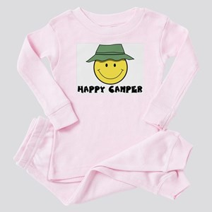 Happy Camper camping Baby Pajamas