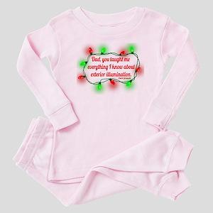 Exterior Illumination Baby Pink Pajamas