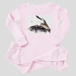 Bat for Bat Lovers Baby Pajamas