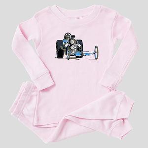 Vintage Top Fuel 1 Baby Pajamas