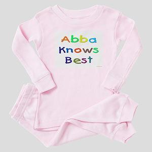 Jewish Abba Knows Best Baby Pajamas