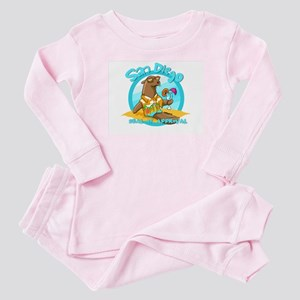 San Diego Seal of Approval Baby Pajamas