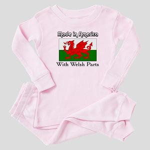 Welsh Parts Baby Pajamas