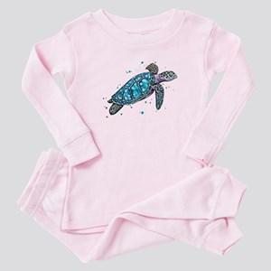 Sea Turtle Baby Pajamas