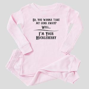 Gun Lover Gifts Baby Pajamas