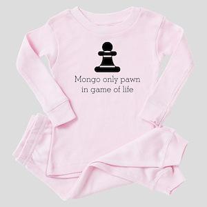 Mongo only pawn Baby Pajamas