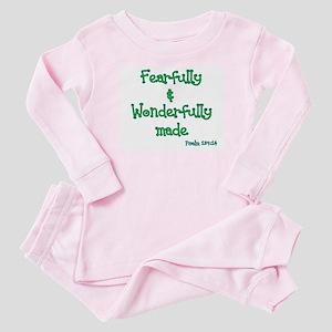 Wonderfully made Baby Pajamas