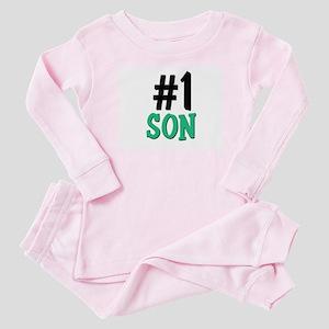 Number 1 SON Baby Pajamas