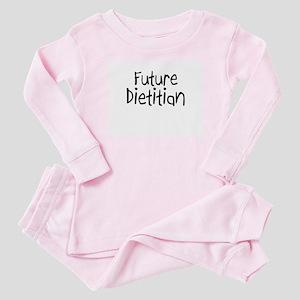 Future Dietitian Baby Pajamas