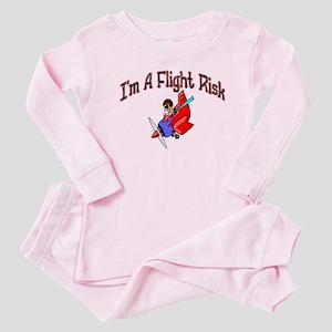 Flight Risk Baby Pajamas