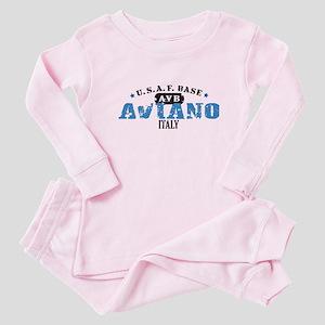Aviano Air Force Base Baby Pajamas
