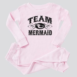 Team Mermaid Baby Pajamas