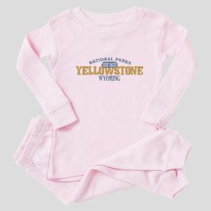 Yellowstone National Park WY Baby Pajamas