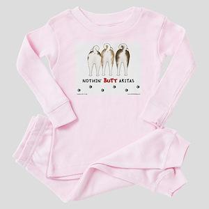 Nothin' Butt Akitas Baby Pajamas