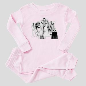 Classic movie monsters Baby Pajamas