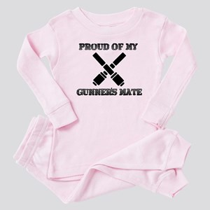 proudofmygunnersmate Baby Pajamas