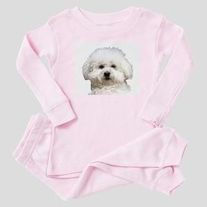 Fifi the Bichon Frise Baby Pajamas